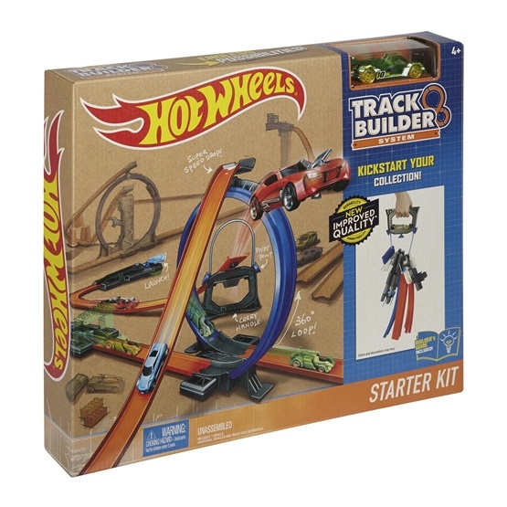 Hot Wheels, Track Builder Start Set