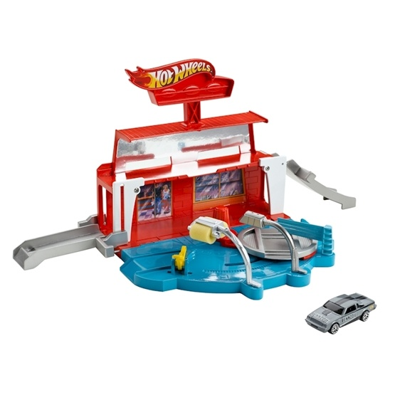Hot Wheels, City - Super Spin Car Wash