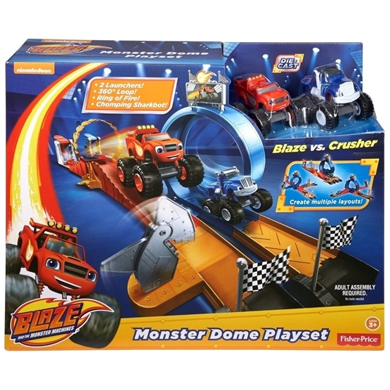Blaze, Monster Dome Playset