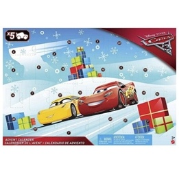 Disney Cars 3, Adventskalender Mattel 2017