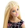 Barbie, Basic Docka Svartrutig klänning