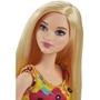 Barbie, Brand Entry Docka Gul klänning med blommor