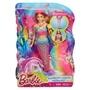 Barbie, Rainbow Lights Mermaid Docka