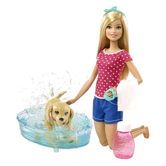 Barbie, Hundvalp & Bad