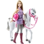 Barbie, Docka & Häst
