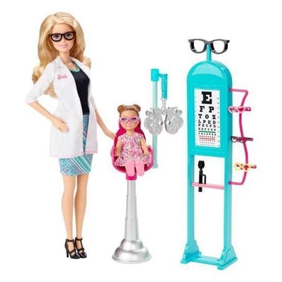 Barbie, Carrer Ögonläkare