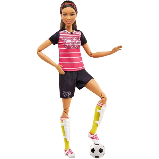 Barbie, Made To Move Active Sport - Soccer Player 2