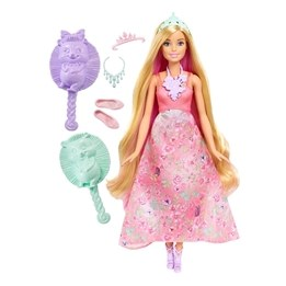Barbie, Dreamtopia Color Stylin Princess - Pink