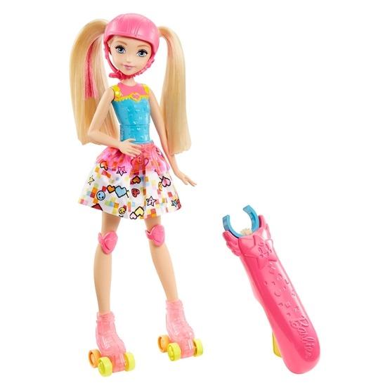 Barbie, Video Game Hero Doll - Skates