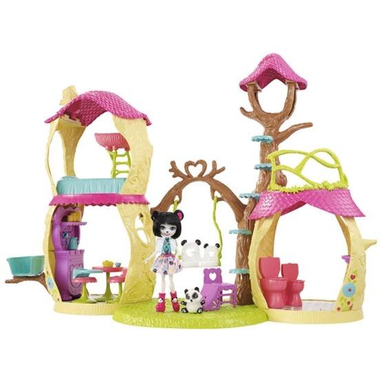 Enchantimals, Hus med dockor och djur