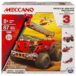 Meccano, 3 Models set - Rescue Squad 87-delar