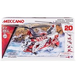 Meccano, 20 Modeller - Aerial Rescue 460 delar