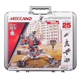 Meccano, 25 Models set - Väska 638-delar