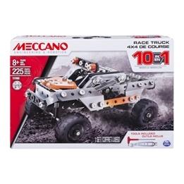 Meccano, 10 Model set - Race Truck 225-delar