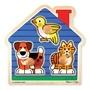 Melissa & Doug, Knoppussel med extra stora knoppar Husdjur