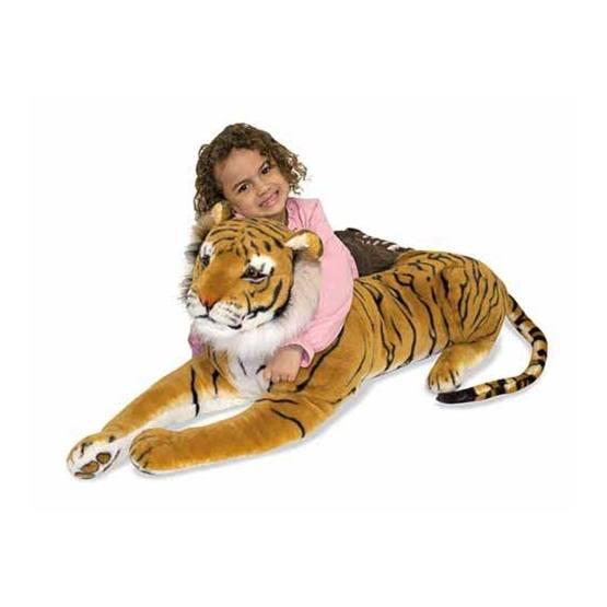 Melissa & Doug, Mjukisdjur Tiger 1.8m