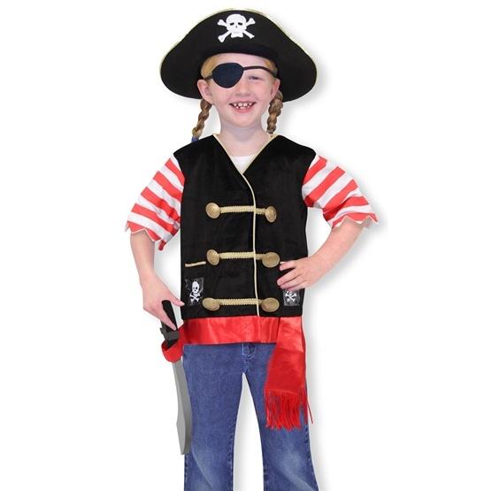 Melissa & Doug, Pirat Utklädnad, 3-6 år