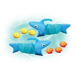 Melissa & Doug Två hungriga hajar badleksak