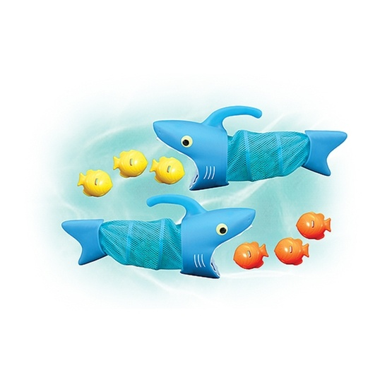 Melissa & Doug, Två hungriga hajar, badleksak