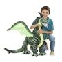 Melissa & Doug, Grön drake, 109 cm