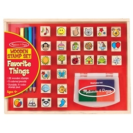 Melissa & Doug, Stämpelset, Favoriter