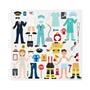 Melissa & Doug, Återanvändbara tjocka stickers, Häftiga yrken