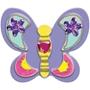 Melissa & Doug, Dekorera dina egna fjärilsmagneter, 4 st