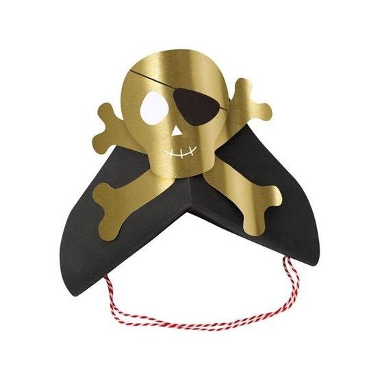 Meri Meri Partyhattar 8-pack (Pirates)