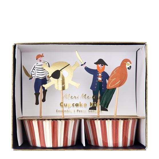 Meri Meri Cupcake Kit (Pirates