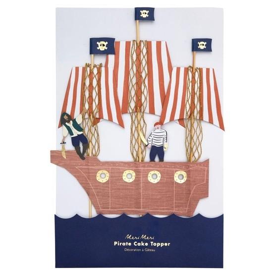 Meri Meri Tårtdekorationer (Pirates)