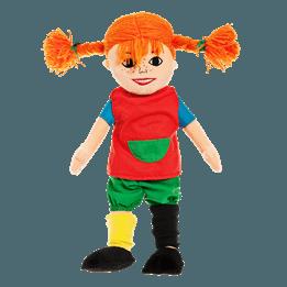 Pippi Långstrump, Mjuk Pippi docka 30 cm