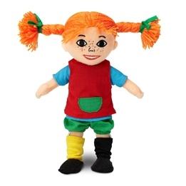 Pippi Långstrump, Mjuk Pippi docka 18 cm