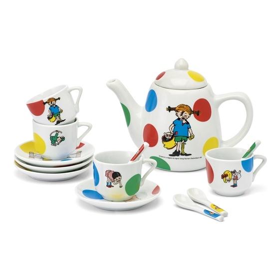 Pippi Kaffeservis, porslin