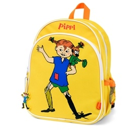Pippi Ryggsäck gul