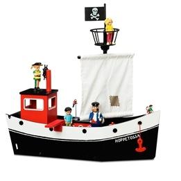 Pippi, Båten Hoppetossa