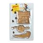 Pippi Långstrump, Bakformar - Pippis sko, hus & huvud