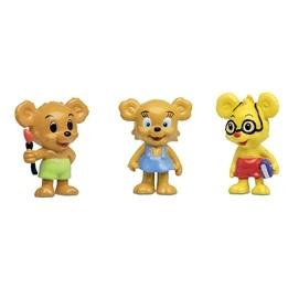 Bamse, Nalle-Maja Brum & Teddy figurset