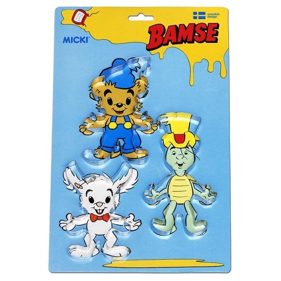 Bamse, Bakformar