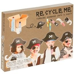 Recycle me, Piraternas partybox