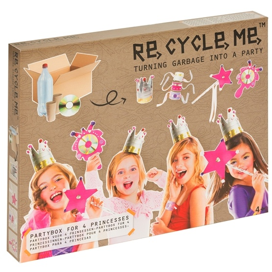 Recycle me, Prinsessornas partybox