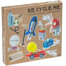 Recycle me, Vetenskap, 6 st återvinningspyssel