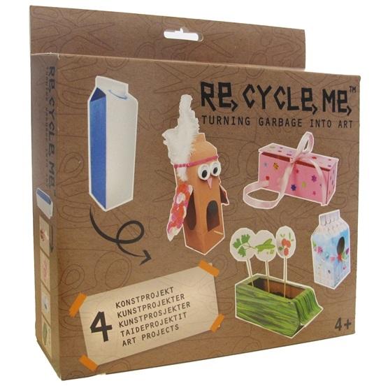 Recycle me, Konstprojekt 4 st