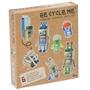 Recycle me, Robotar, 6 st återvinningspyssel