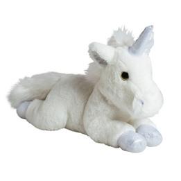 Molli Toys, Enhörning vit/silver 35 cm