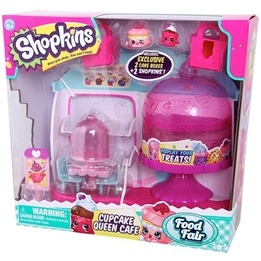 Shopkins, Serie 4, Food Mix - Cupcake Queen Café