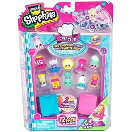 Shopkins, Chef Club S6 - 12-pack