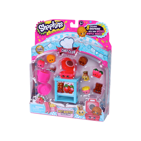 Shopkins, Chef Club S6 - Hot Waffle Collection