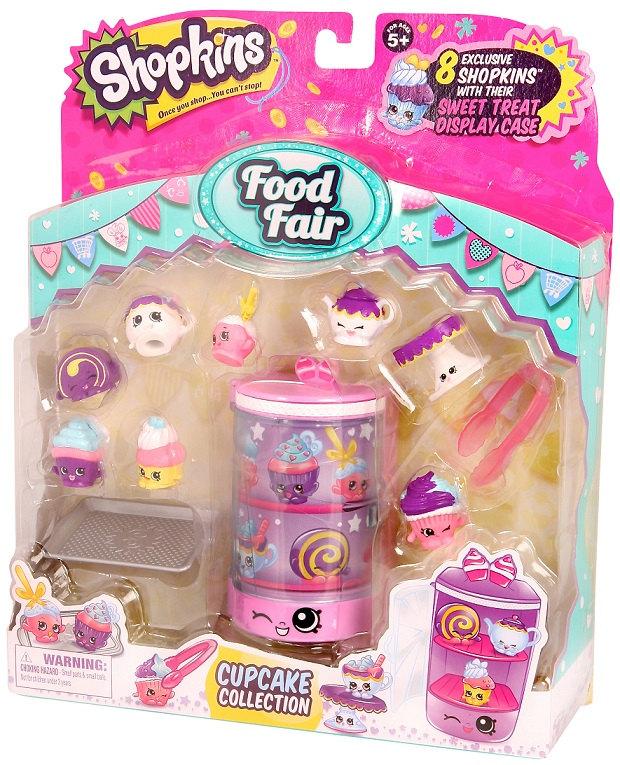 shopkins serie 4 food fair cupcake. Black Bedroom Furniture Sets. Home Design Ideas