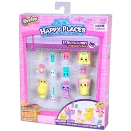 Happy Places, Shopkins S1 - Decorator Pack - Bathing Bunny