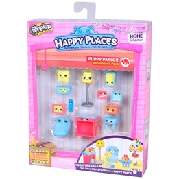 Happy Places, Shopkins S1 - Decorator Pack - Puppy Palor